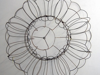"Emily Sloan, ""Mandala"" 2012, mixed media"
