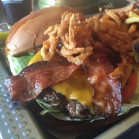 Bovine and Barley burger
