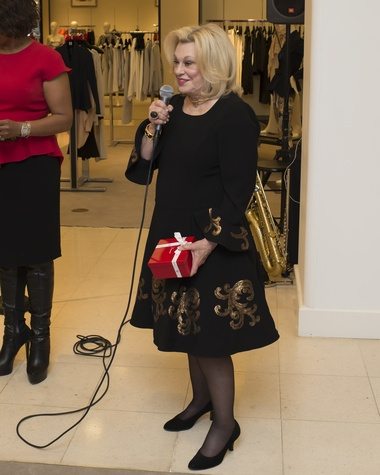 72 Sydney Faust at Houston Sweethearts at Saks February 2015