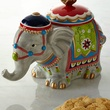 Elephant cookie jar at Neiman Marcus