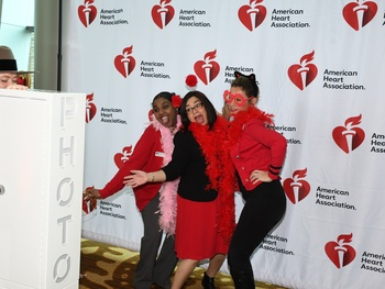 Guests show big hearts and dance moves at Go Red Fort Worth Luncheon