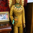 Michael Brown auction cigar store native american statue