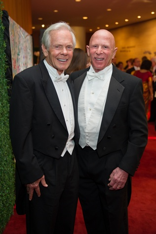 3031 Jim Smith, left, and Lester Smith at the Houston Symphony Centennial Ball May 2014