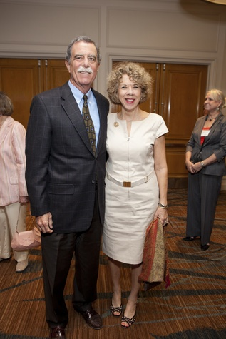 0095 Ed Allday and Francey Pengra at the Menninger Luncheon May 2014