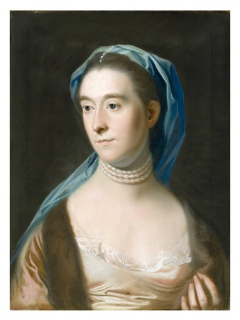 Joseph Campana, MFAH, Made in America, July 2012, Copley, Portrait of Mrs. Joseph Henshaw