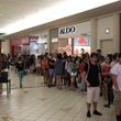H&M Willowbrook Opening, Crowd in line, June 2012