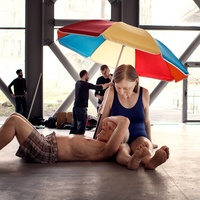 Ron Mueck exhibition Paris June 2013 couple