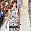Fashion Week spring 2015 Tory Burch black-and-white Photo by Slaven Vlasic-Getty Images for Mercedes-Benz