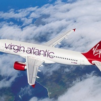 airplane, jet, plane, Virgin Atlantic Airlines