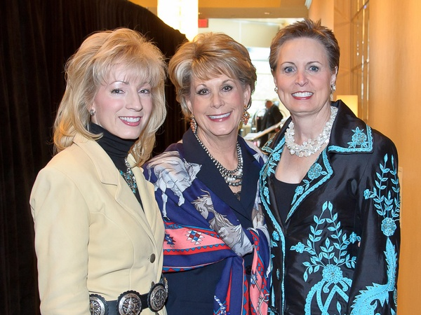 News_Trailblazers luncheon_February 2012_Pat Mann Phillips_Paula Robinson_Sharleen Walkoviak