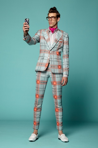 Fashion Week spring 2015 Trina Turk men's suit
