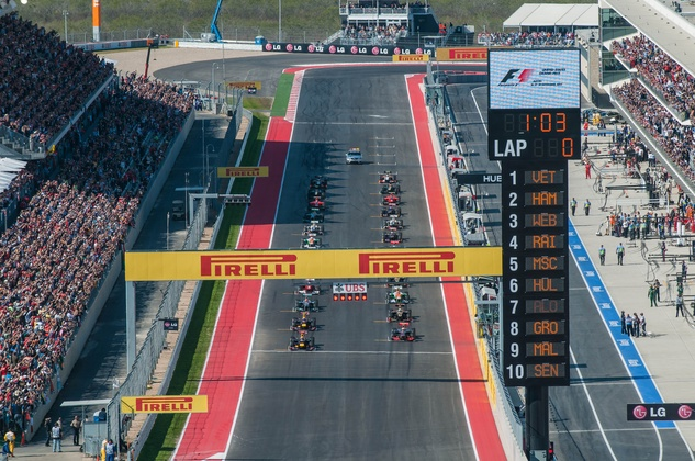 Austin Photo: Kevin_Formula 1 international_November 2012_grand prix start
