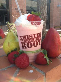 Twisted Root pear shake