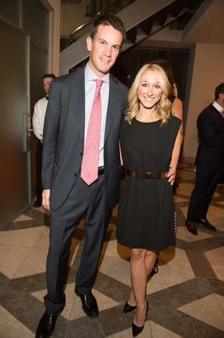 6 James and Erin Stewart at the Houston Ballet kick-of party October 2014