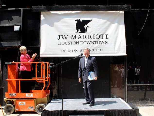 J.W. Marriott Houston Downtown Hotel Pearl Hospitality historical renovation.