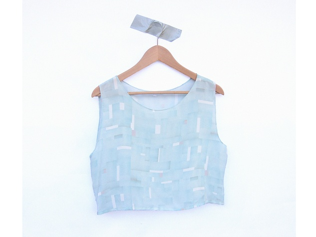 Houston Design Fair 2013 exhibitors Evens Mint Annetta crop top