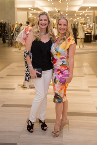 Saks MD Anderson benefit 4/16, Amy Pierce, Melissa Edwards