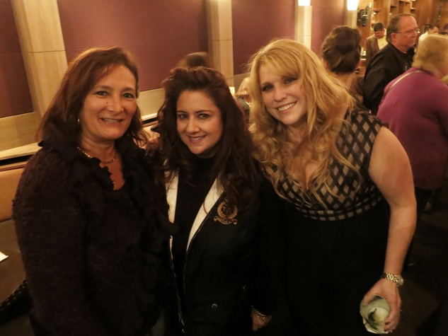 Anna Barbosa, from left, Sonia Soto and Cindi Perini at the Rescued Pets Movement launch party November 2013