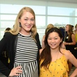 Paige Branam, left, and Chloe Dao at WOW's Membership Drive June 2014