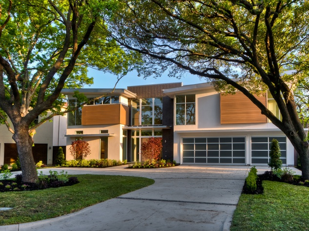 Dave perry miller associates present 5 exemplary for Contemporary home builders dallas
