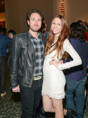 Jack McWilliams and Lauren Pray at the Houston Cinema Arts Festival opening night party November 2013