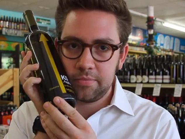 Justin Vann sommelier PSA Wines video still May 2013