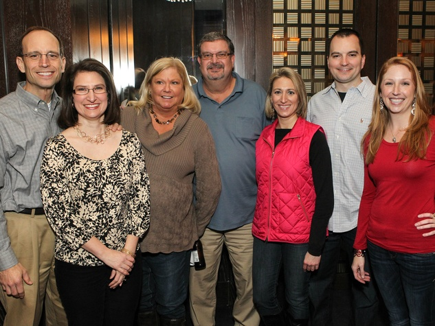 Kelly and Brigette Vinton, Teri and Greg DeWitt, Cara Spradling, Chris Sides, Aimée Fishe, the great adventure hunt