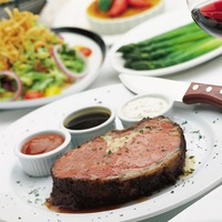 Fleming's, steak, prime rib, salad