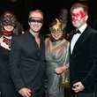 19 Beth Muecke, from left, Shannon Hall, Debbie Festari and Marcus Sloan Masks at the Houston Ballet Ball February 2015