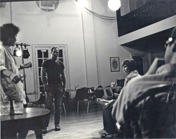 Rehearsal at Autry House, circa 1975 Main Street Theater