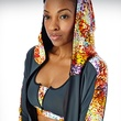 Fire Zip Bra, Hooded Jacket, Warrior Elements