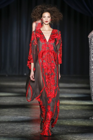Naeem Khan fall 2016 collection Look 27