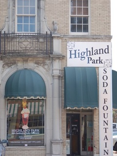 Highland Park Pharmacy on Knox Street in Dallas