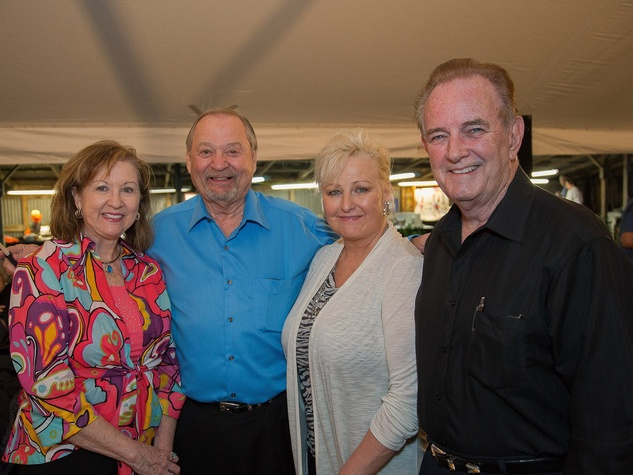 Armand Bayou Nature Center Gala May 2013 Sue Mease, Roy Mease, Jeanie Isbell, Mayor Isbell