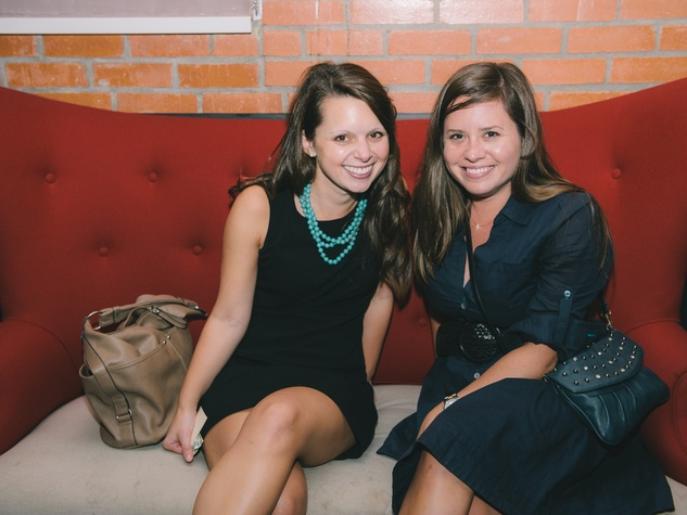 8 Amy Ellwood, left, and Blakely Allen at Dine Around Houston at Sparrow Bar & Cookshop