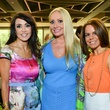 28 Diane Caplan, from left, Lori Geshay and Ashlee Elmore at Heroes and Handbags May 2014