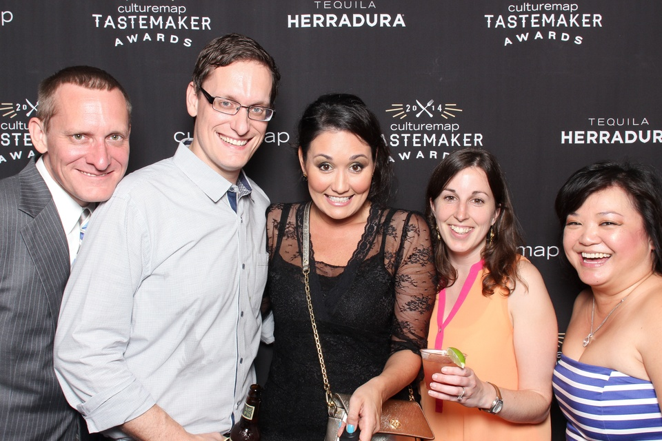 CultureMap Tastemakers Awards May 2014 Smilebooth