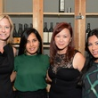 25 Reyne Hirsch, from left, Swati Narayan, Tammy Tran Nguyen and Stephanie Carrasco-Oshman at the KNOWAutism Foundation reception September 2014
