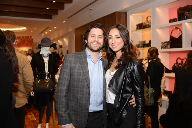 4 Jason and Erin Busch at the Elaine Turner BLVD Place Grand Opening Party December 2014