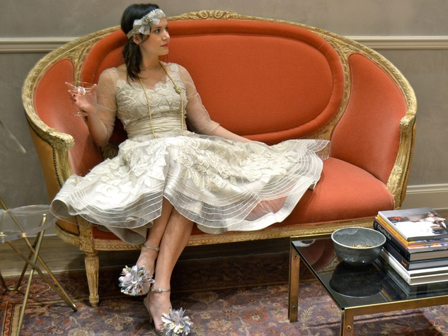 Great Gatsby Redux The 1920s Flapper Look Makes A 21st