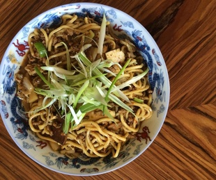 Cannon Chinese Kitchen pork and tofu noodles