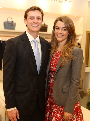 5 Kevin Kushner and Brittany Sakowitz-Kushner at Saks' Key to the Cure October 2013