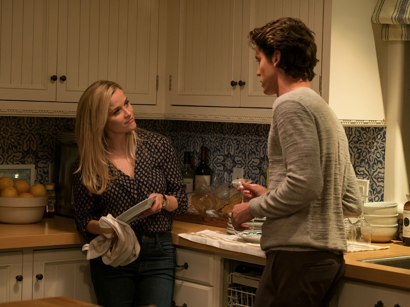 Reese Witherspoon and Pico Alexander in Home Again