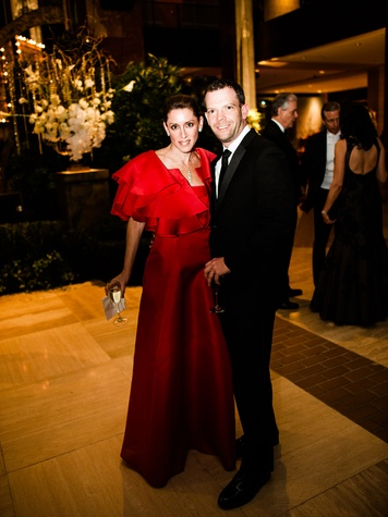 Debra Phares, Eric Gilmour at Crystal Charity Ball 2013