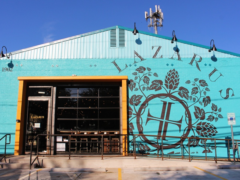 Lazarus Brewing Company brewery Austin exterior