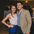 Brittany and Adam Branscum at the Fashion Houston Launch Party October 2013