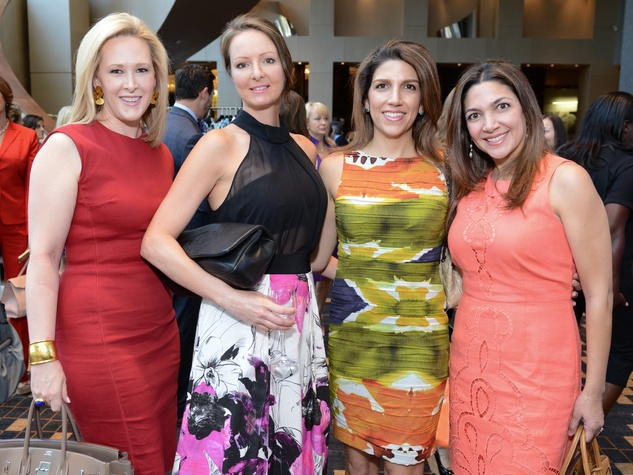 News, Shelby, Children's Assessment Center luncheon, May 2015,Kelly Silvers, Loretta Horowitz, Neekie Kashani, Ashley Baxter
