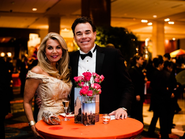 Catherine Awtrey, Mike Cieri at Crystal Charity Ball 2013