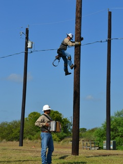 Austin Linemen PowerUp performers