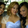 Rosie, from left, me and Eva Wonderful Weddings Always a Bridesmaid February 2014